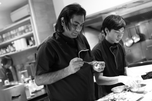 Gaggan Anand working his culinary magic Photo Credit - Varavudh Lattanand: Town Country Thailand