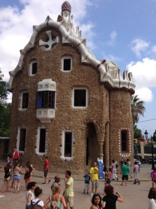One of Gaudi's wondrous works of art in Barcelona