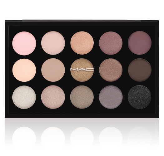 M.A.C Eyes x 15 Eye Shadow Palette in Cool Neutral (Image courtesy M.A.C)