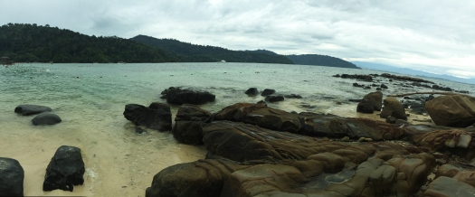 The quieter end of Sapi Island, Sabah